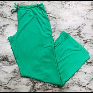 GAP Body Green Pj Pants Size Small